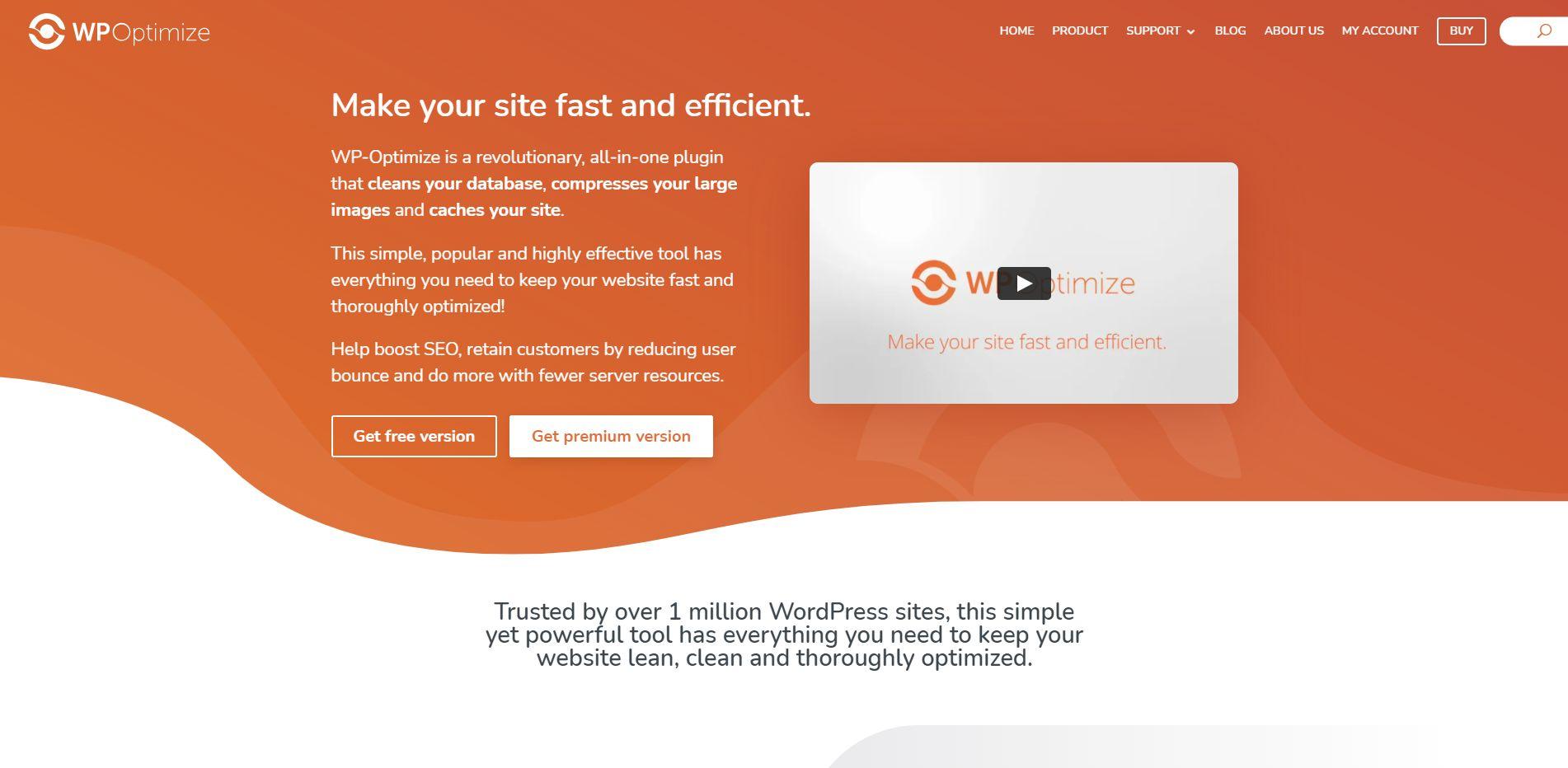 Wordpress Plugin Komma99 WPOptimize