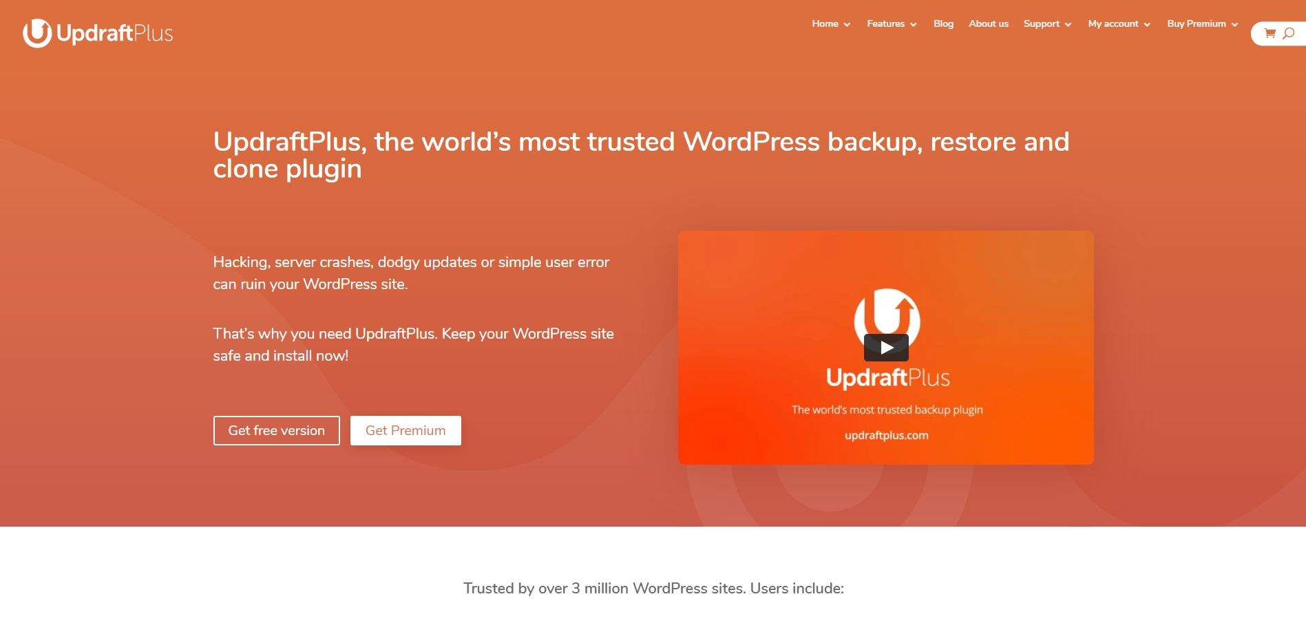 Wordpress Plugin Komma99 UpdraftPlus
