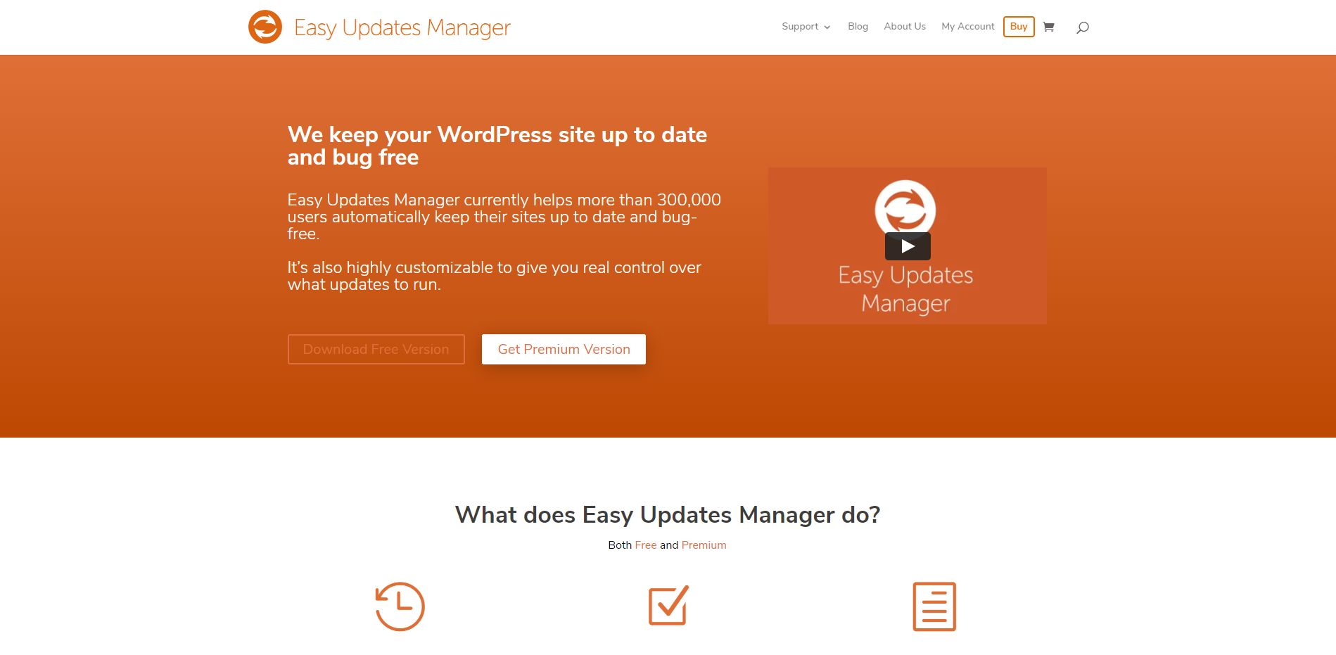 Wordpress Plugin Komma99 Easy Updates Manager