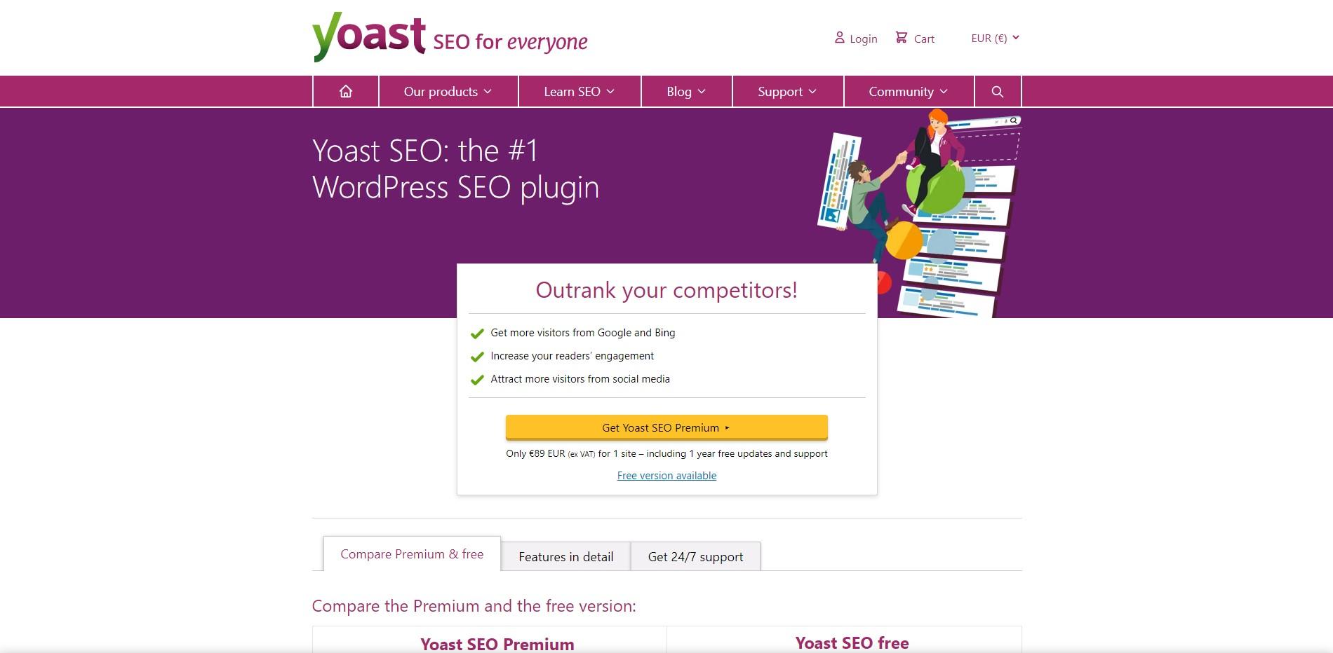 Wordpress Plugin Komma99 YOAS SEO
