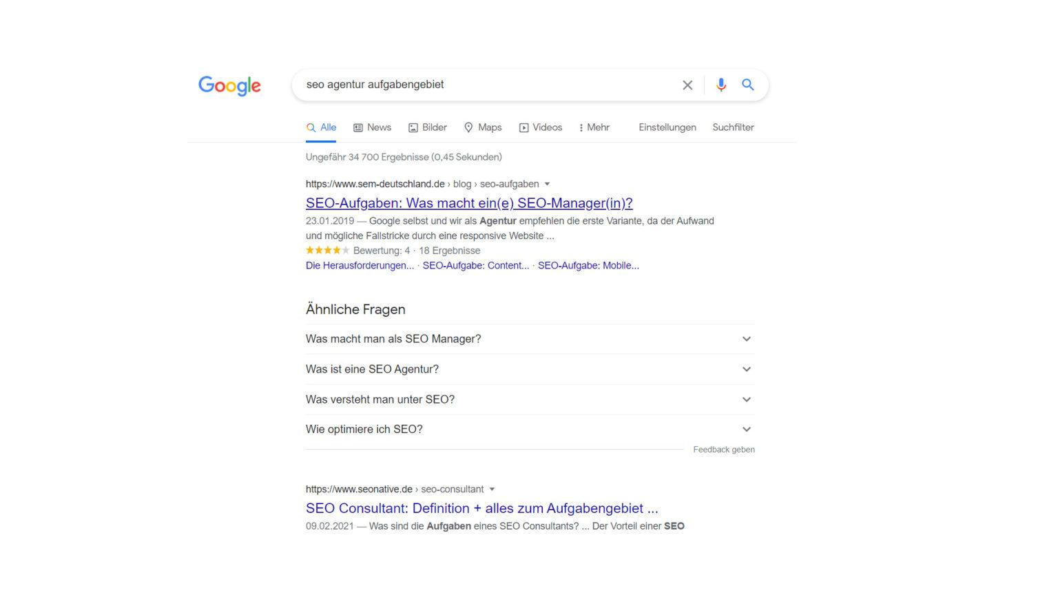 Keyword Recherche Komma99